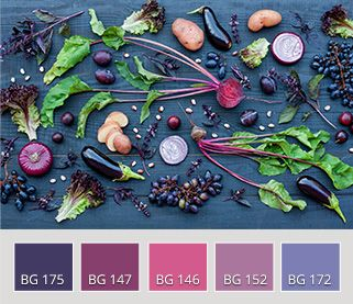 purple veggies